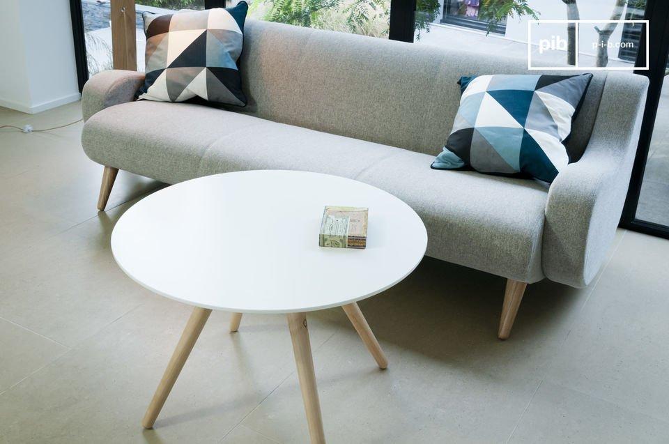 Couchtisch beel schlichtes design im stil 50er jahre pib for Couchtisch 50er design