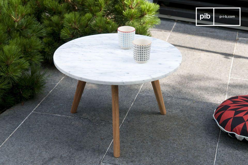 couchtisch bri t heller marmor und kompakte gr e pib. Black Bedroom Furniture Sets. Home Design Ideas