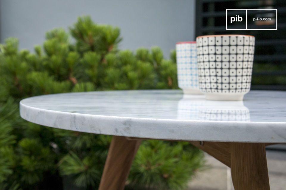 Der Couchtisch Briët wird Ihnen mit seinem skandinavischen Design