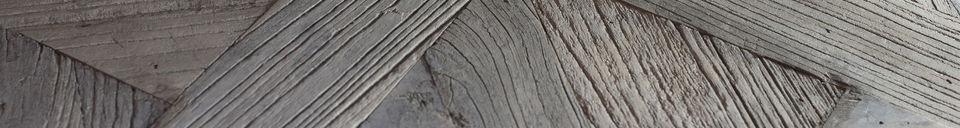 Materialbeschreibung Couchtisch Charpente
