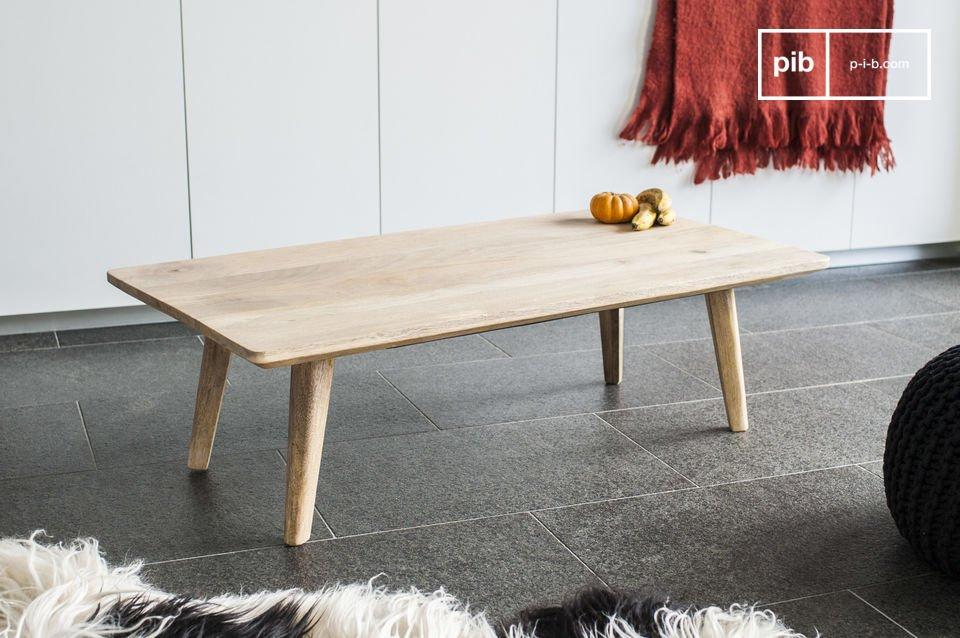 Der skandinavische Stil lädt sich in Ihrem Wohnzimmer ein