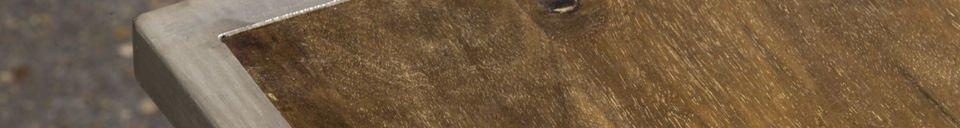 Materialbeschreibung Couchtisch Trémy