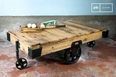 Couchtisch Wood Wagon