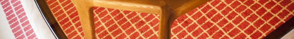 Materialbeschreibung Dagsmark Esstisch aus Holz und Glas