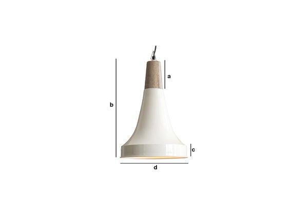 Produktdimensionen Deckenlampe Balissö