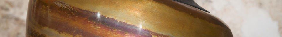 Materialbeschreibung Deckenleuchte Skaal