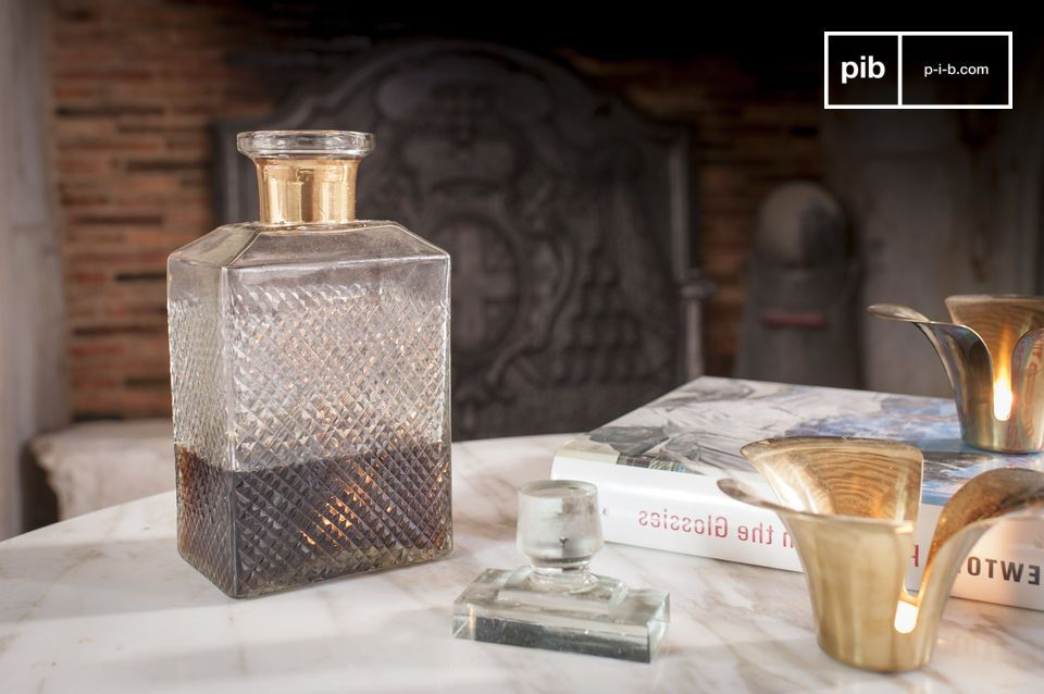 Eine elegante Karaffe für Whisky