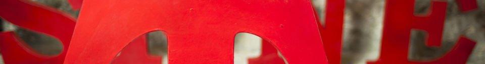 Materialbeschreibung Deko-Buchstabe T