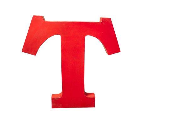 Deko-Buchstabe T ohne jede Grenze