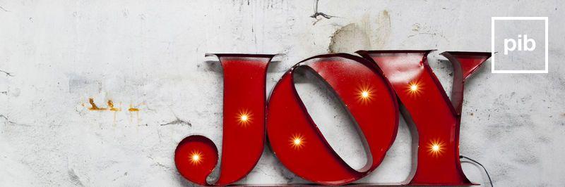 Deko-Buchstaben industriel