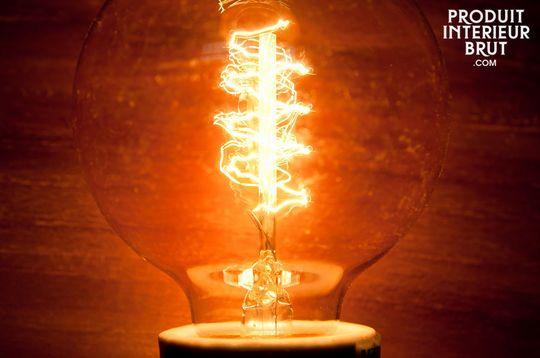 Deko-Glühbirne mit Spiral-Glühfaden