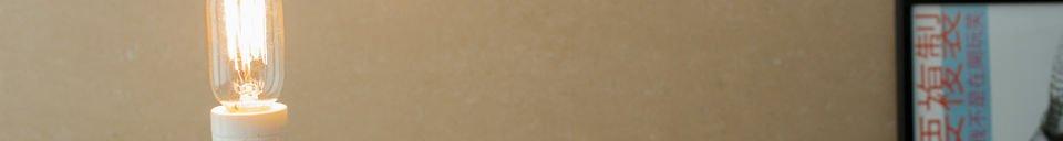 Materialbeschreibung Deko-Glühbirne Oval