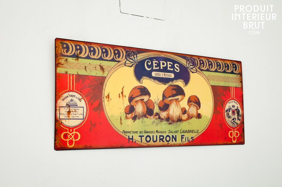 Dekoratives Schild Touron