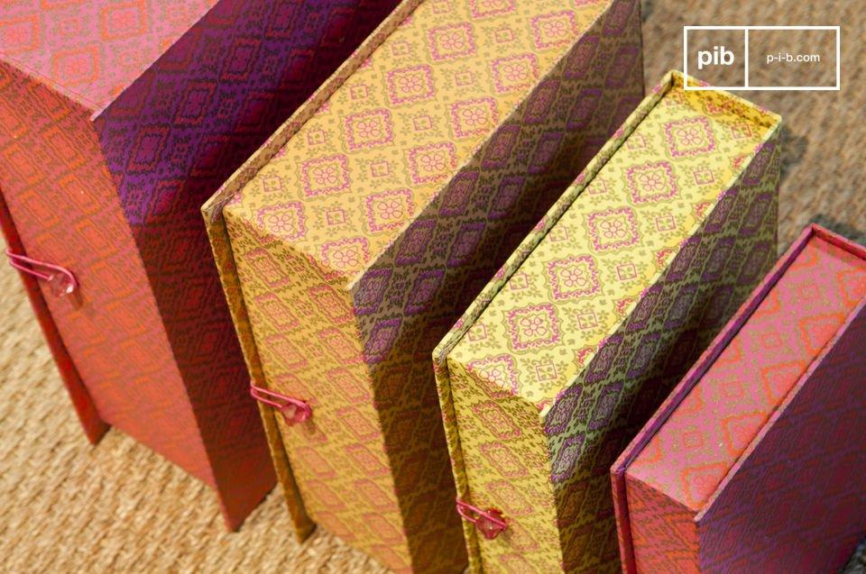 Der Charme von bunten Boxen mit antikem Flair