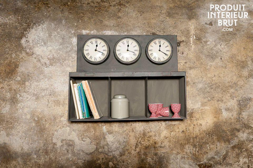 Drei unabhängig voneinander funktionierende Quarz-Uhrwerke