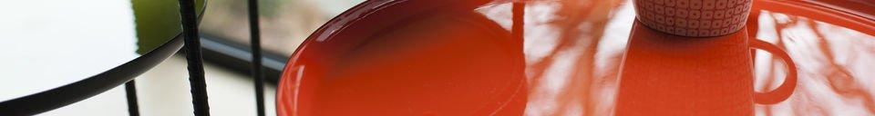 Materialbeschreibung Dreifarbiger Beistelltisch Kirk