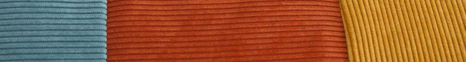 Materialbeschreibung Dreifarbiges Kissen Mathis