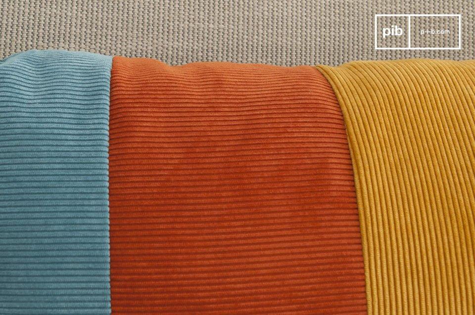 Die Weichheit des Cords und schöne Vintage Farben