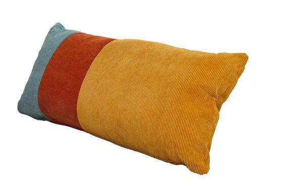 Dreifarbiges Kissen Mathis ohne jede Grenze