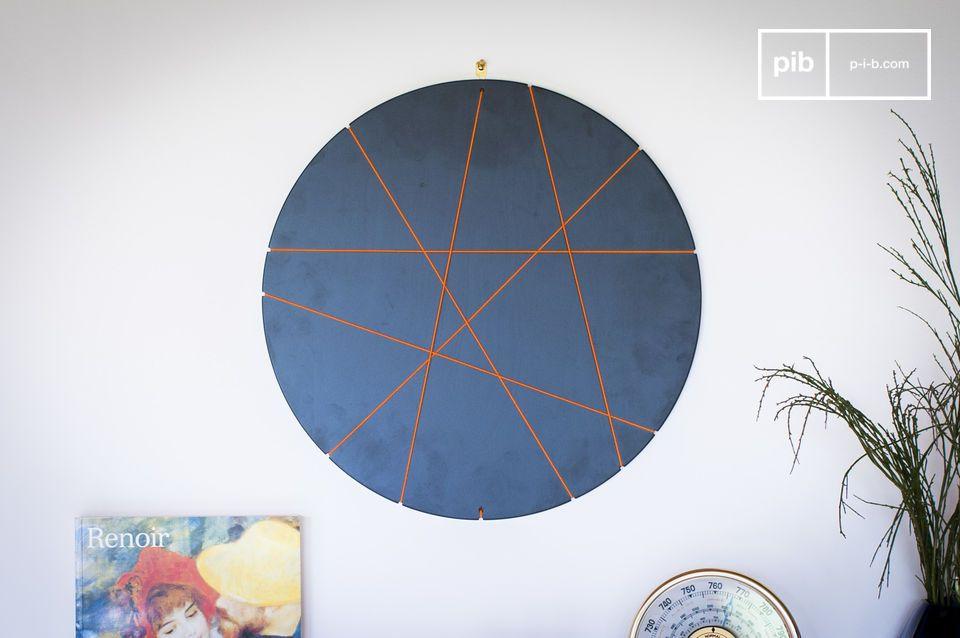 Dieser runde Fotorahmen mit innovativem Design ermöglicht es Ihnen