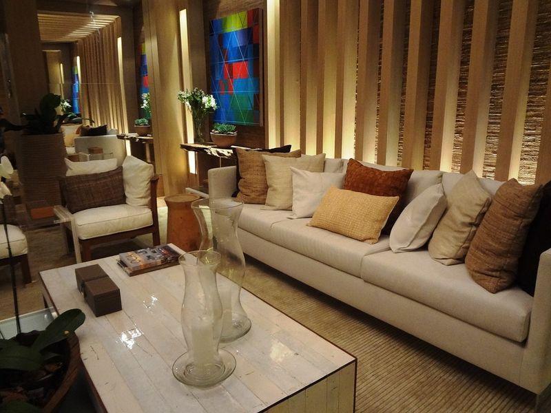 elegantes sofa