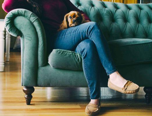 Emerald sofa