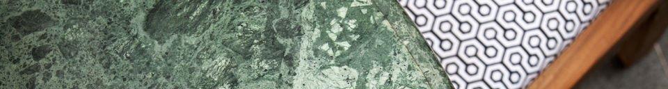 Materialbeschreibung Esstisch aus Marmor