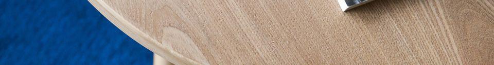 Materialbeschreibung Estrella Beistelltisch aus Holz