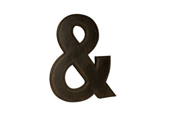 Et-Zeichen Deko-Buchstabe ohne jede Grenze