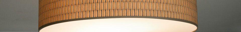 Materialbeschreibung Flache Deckenleuchte Bromma