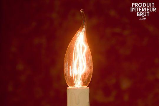 Flammen-Glühbirne mit langem Glühfaden 40 W