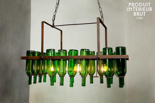 Flaschenlüster