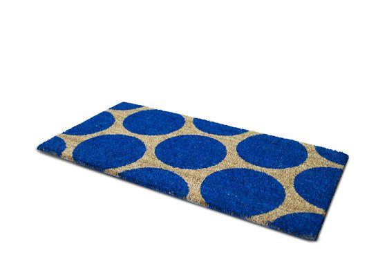 Fußmatte Bubble Blau ohne jede Grenze
