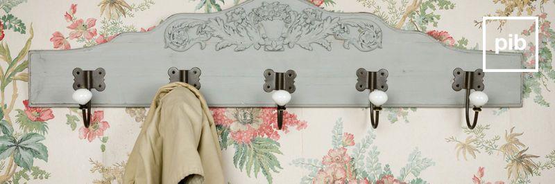 Garderobe landhaus shabby chic bald zurück in der Sammlung