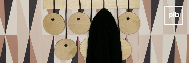 Garderobenhaken aus Holz