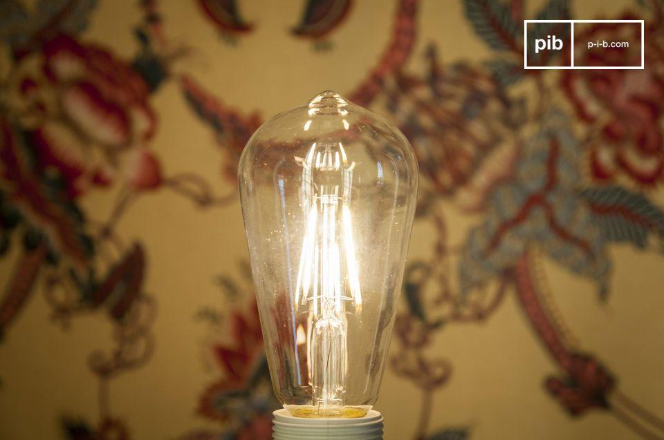 Vintage Form und Licht, außergewöhnliches Leben