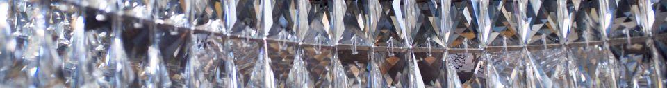 Materialbeschreibung Glas Kronleuchter Monte Carlo
