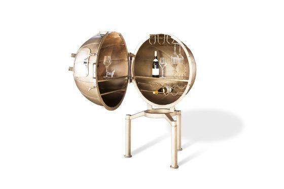 Globusbar Jules Vernes ohne jede Grenze