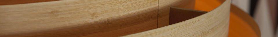 Materialbeschreibung Große Deckenleuchte Bamboo