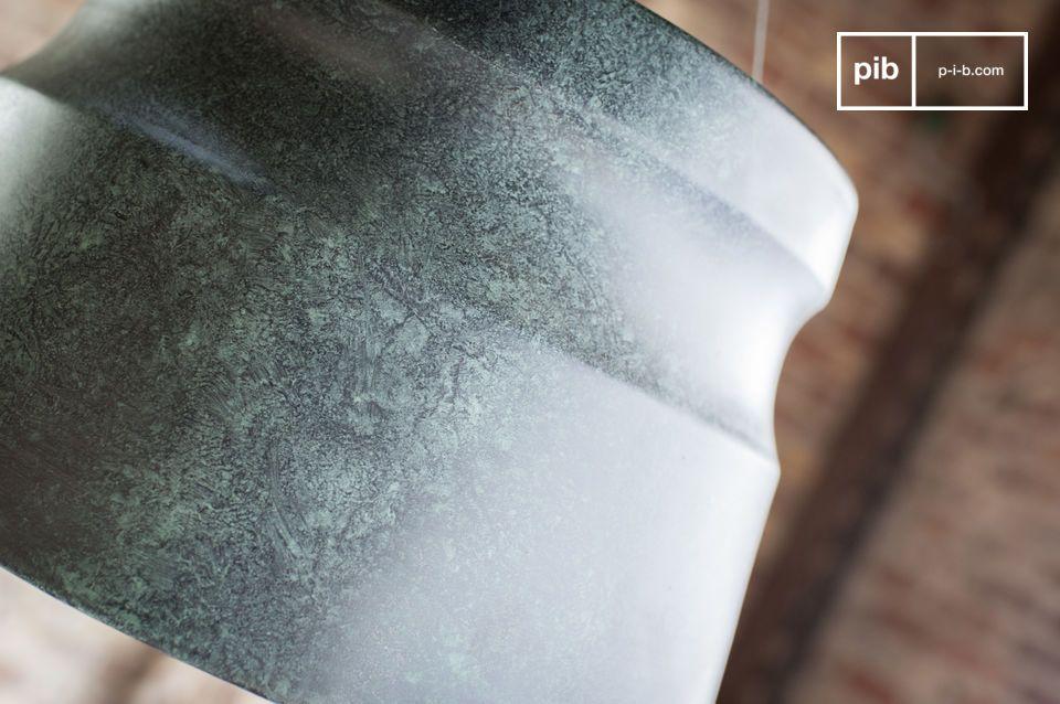 Verliebe dich in eine schieferfarbene Lampe mit marmorierten Effekten für Ihr Wohnzimmer