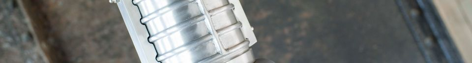 Materialbeschreibung Große Industriehängelampe Friedler