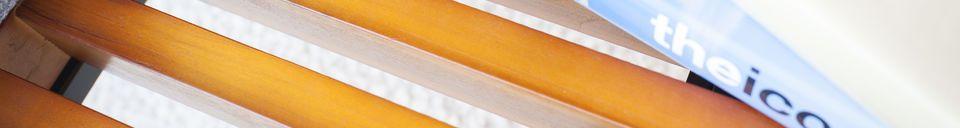 Materialbeschreibung Größe Sitzbank mit Schublade Inez