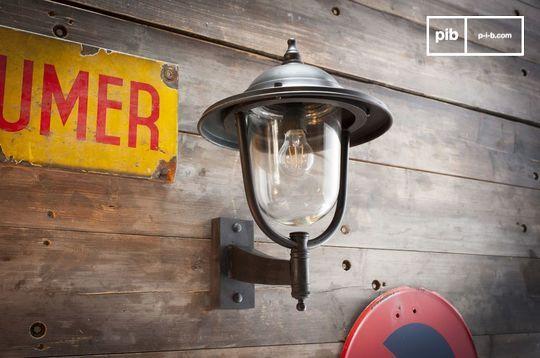 Größe Wandlampe für draußen Lizurey