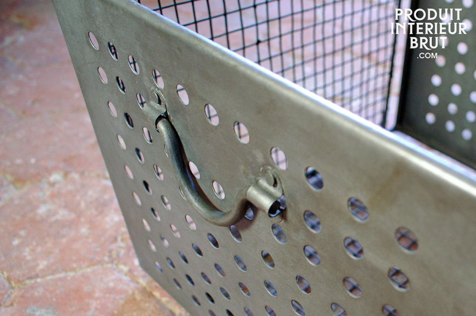 Gitterkorb im Industrial Design, großes Modell