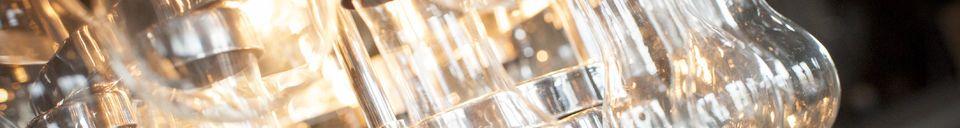 Materialbeschreibung Größer Glas Lüster Tausend Tröpfen