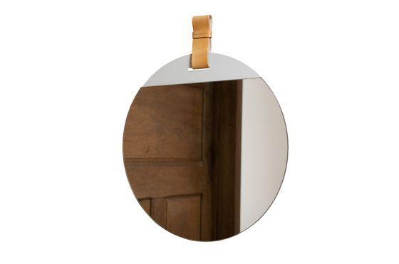 Großer Spiegel mit Gurt für den Eingangsbereich ohne jede Grenze