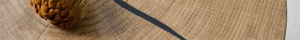 Materialbeschreibung Großer xyleme Beistelltisch