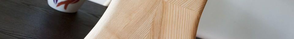 Materialbeschreibung Großes Bücherregal aus Holz Waverly