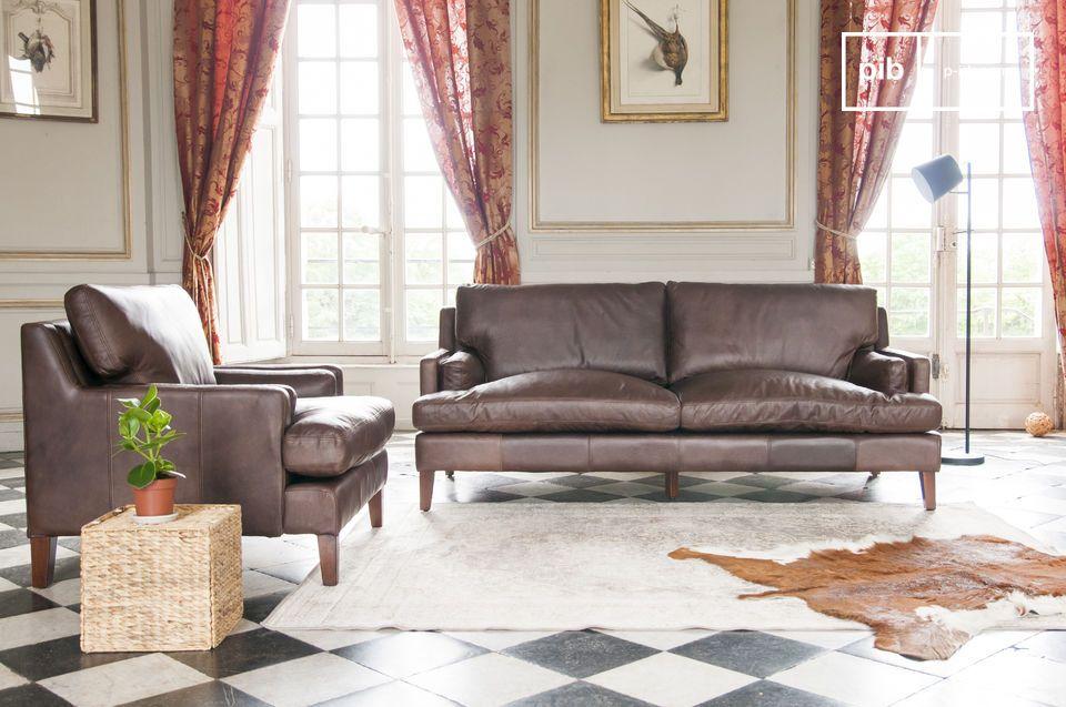Sie können Ihr Sanary Sofa mit einem oder zwei Sesseln aus der gleichen Kollektion ergänzen