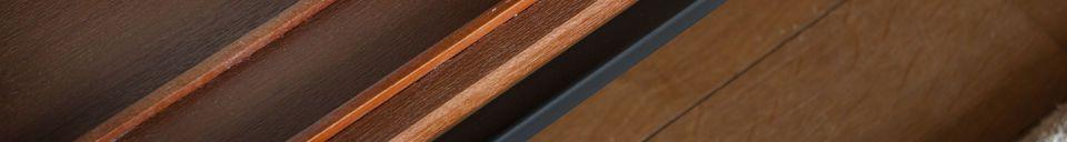 Materialbeschreibung Großes Ramatuelle Regal und Lagerung